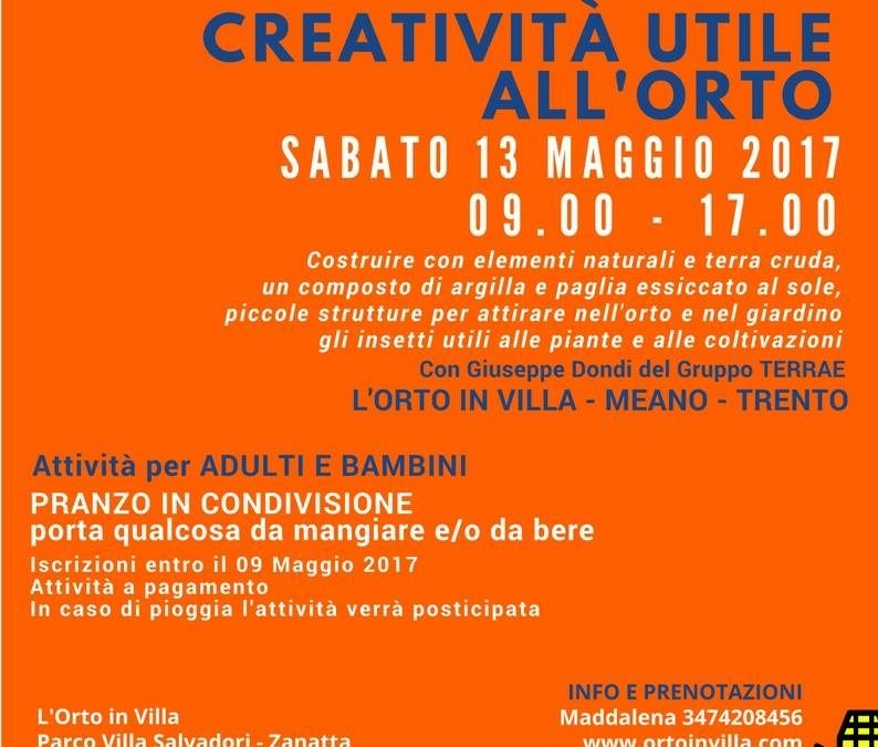 Creatività utile all'orto