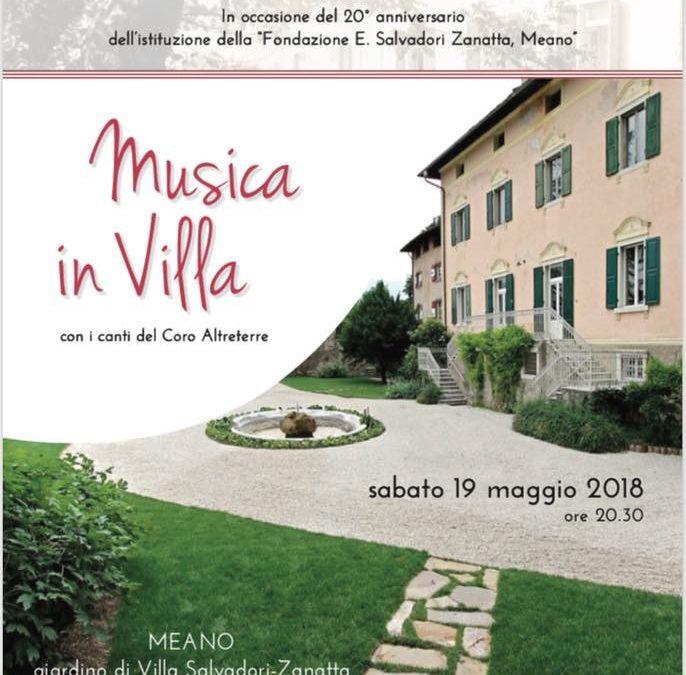 Musica in Villa